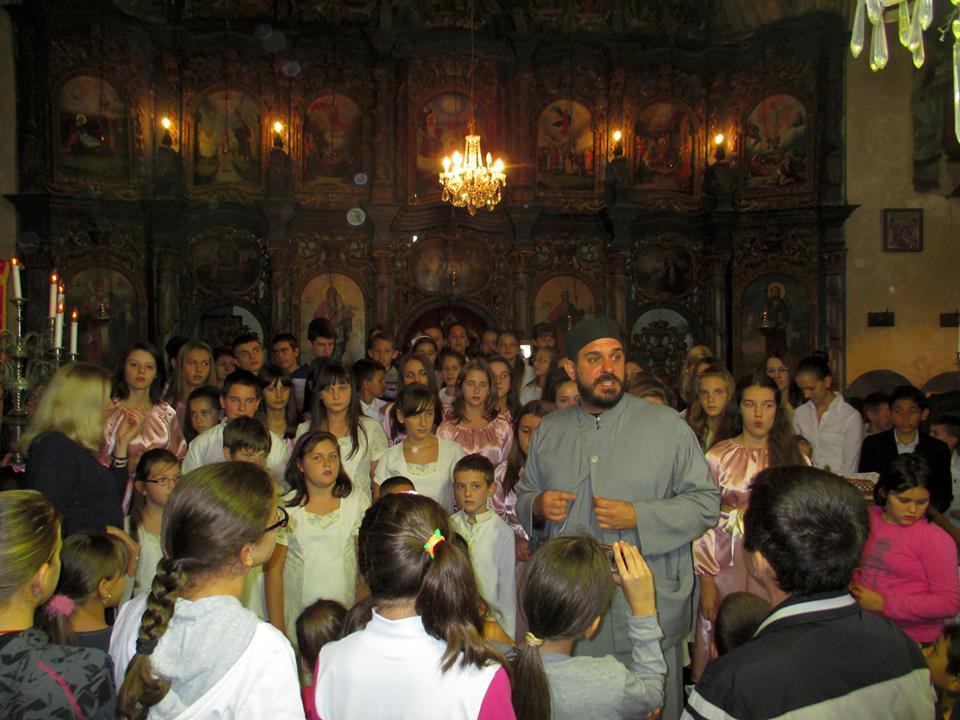 Концерт дечјих хорова у Врднику