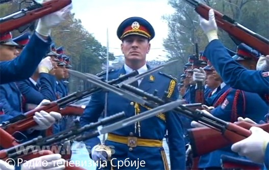 Војна парада данас у Београду
