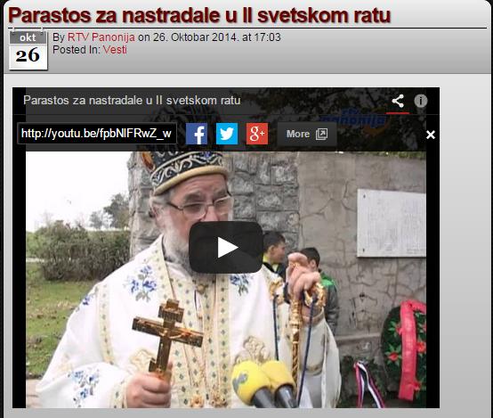 Литургија и парастос у Павловцима