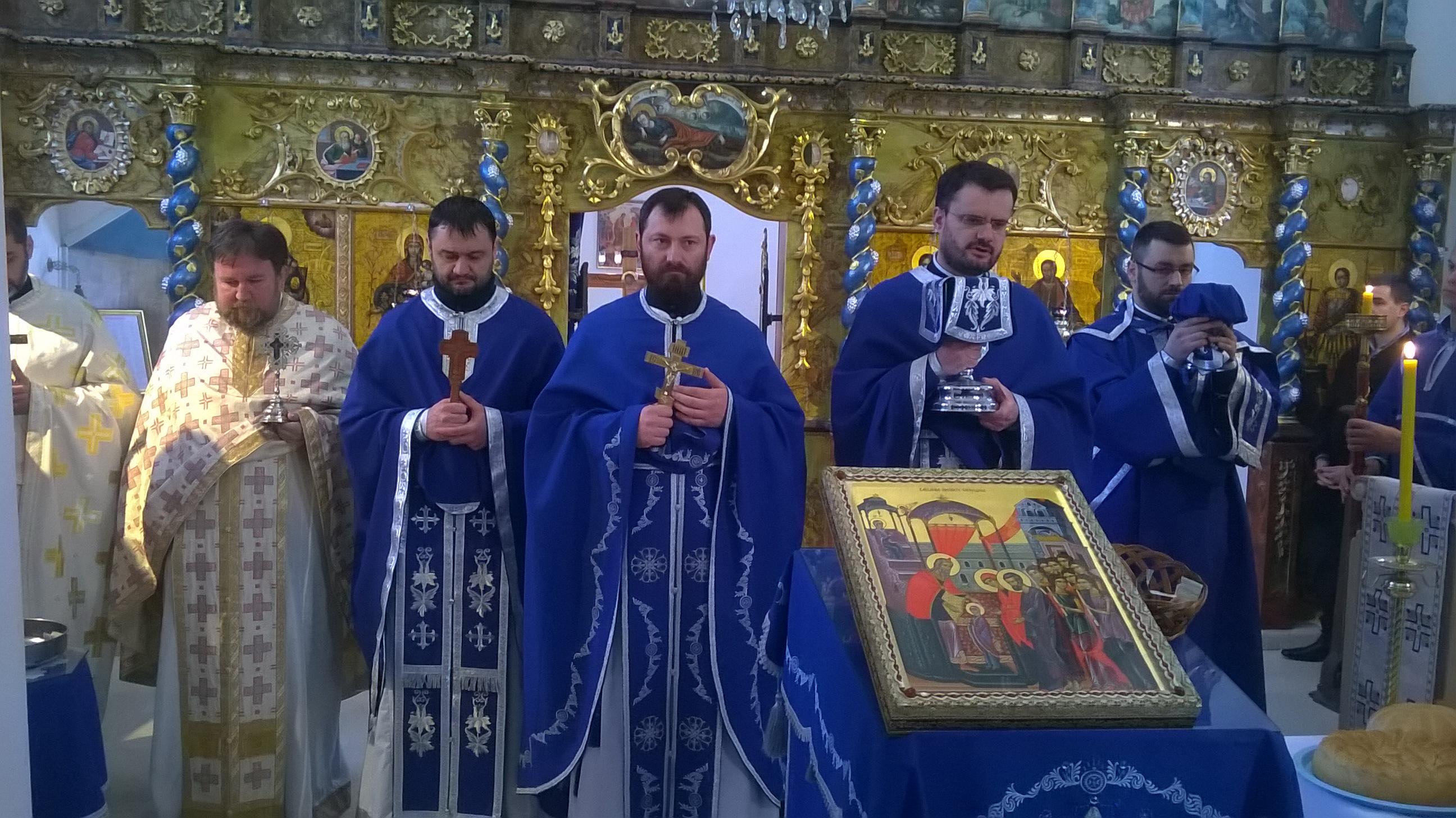 Свети Нектарије у сремскокарловачкој Горњој цркви