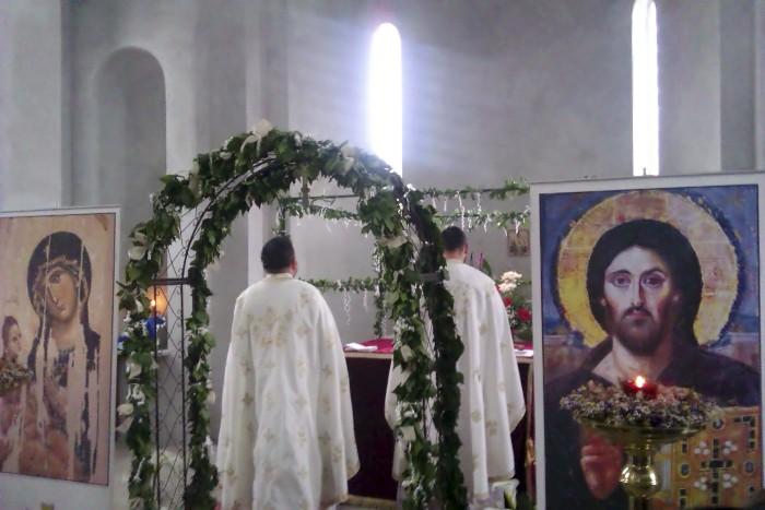 Најава: Јелеосвећење у Храму Сабора српских светитеља у Руми