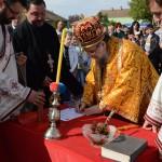 Освећење темеља новог храма у Вишњићеву