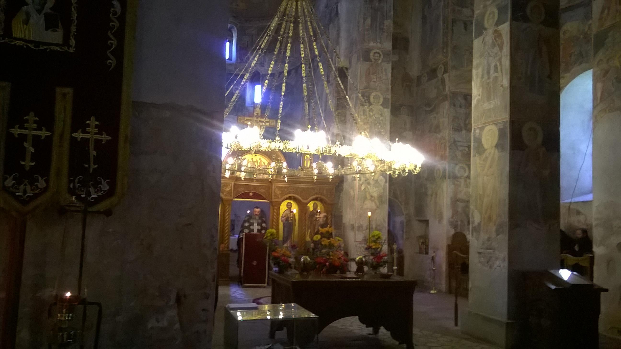 Велики петак, манастир Ново Хопово
