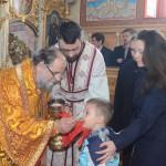 Освећење храма у Илинцима