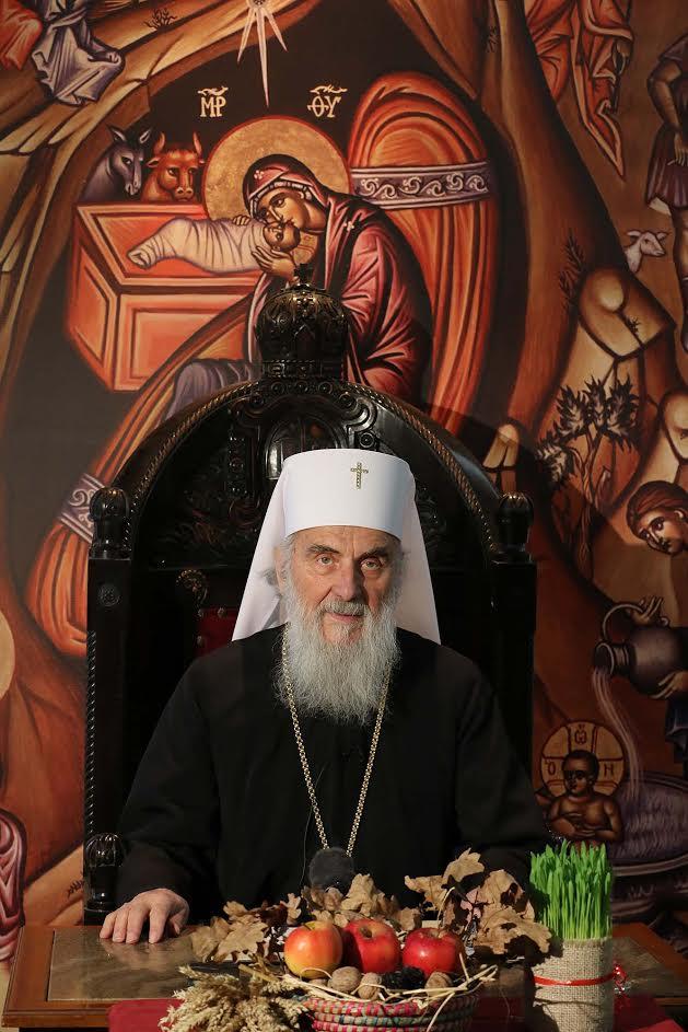 Патријарх Иринеј у недељу богослужи у Руској цркви