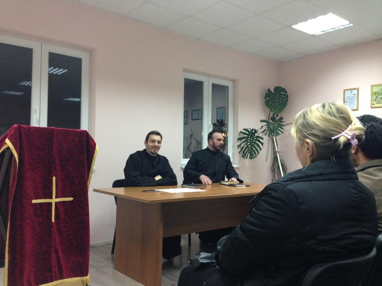 Праштално богослужење и предавање у Угриновцима