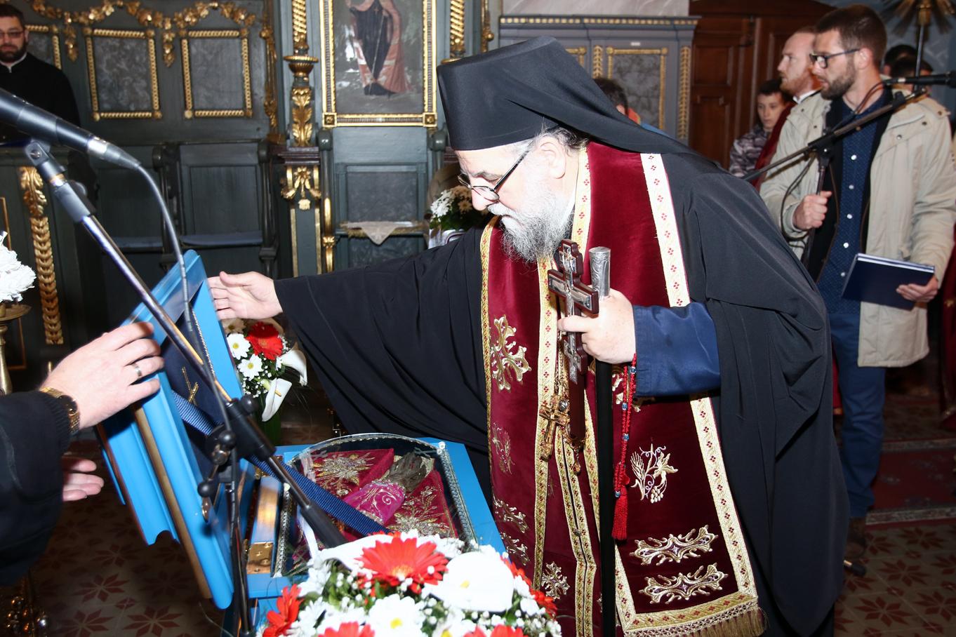 Беседе епископа сремског Г. Василија на путу моштију Преподобне мајке Ангелине