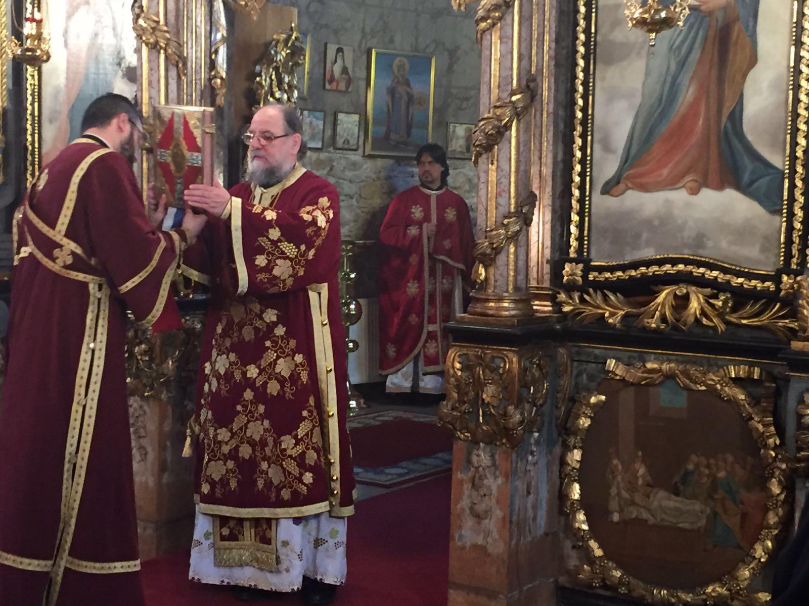 Света заупокојена архијерејска Литургија у Сремској Каменици