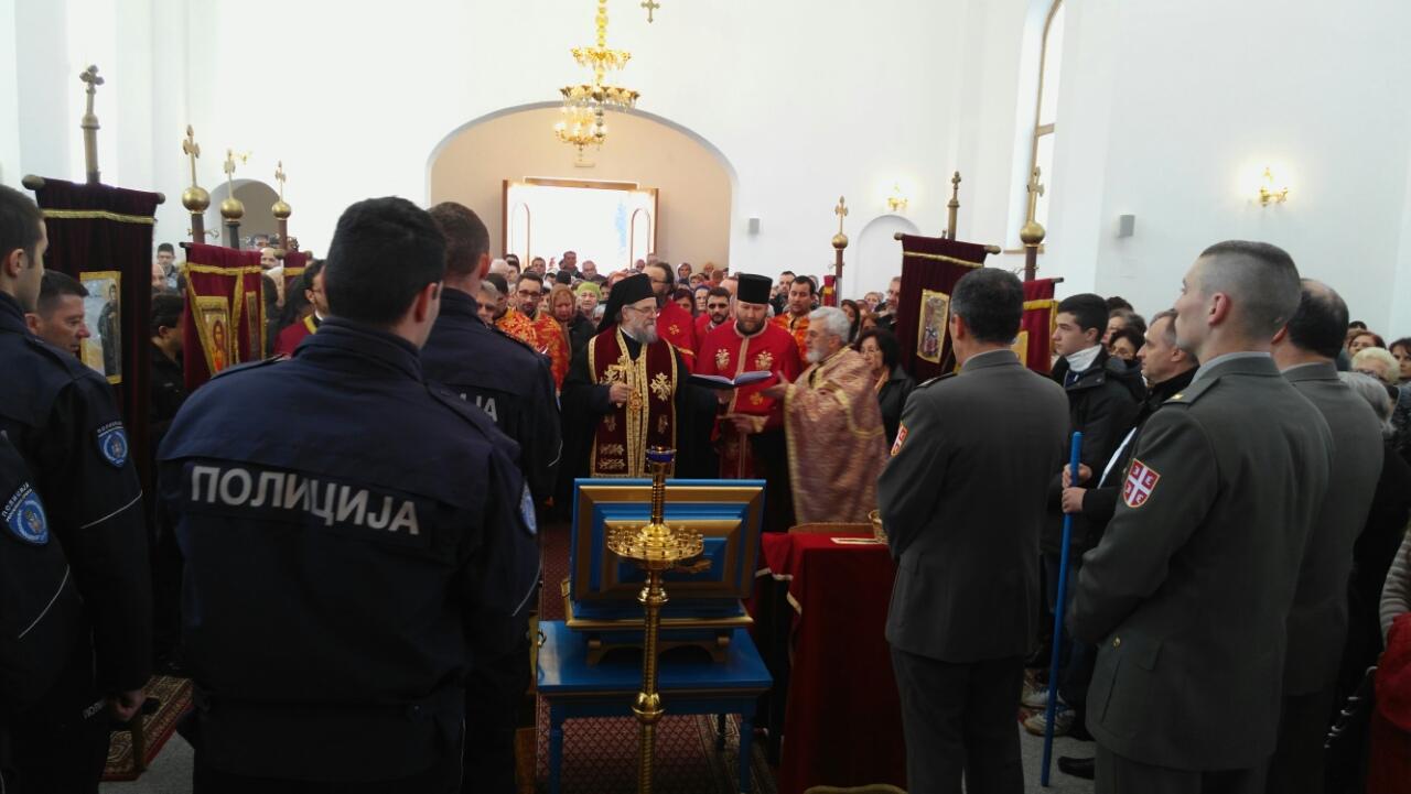 Дочек моштију Свете мајке Ангелине у Петроварадину