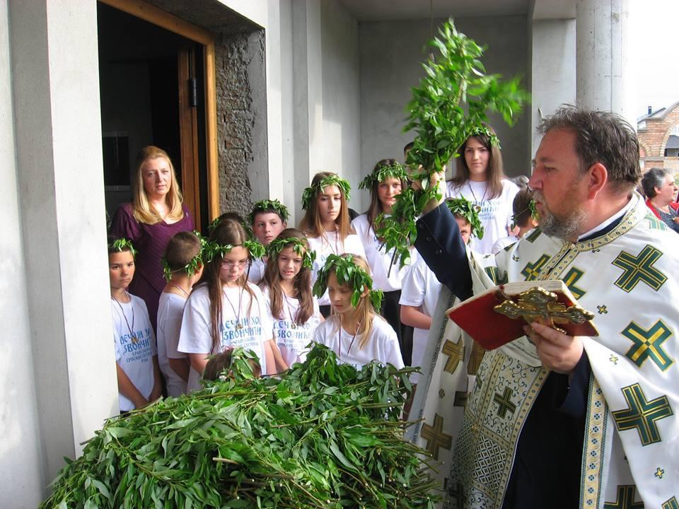 """Из фото-албума: дечји црквени хор """"Звончићи"""" из Руме"""
