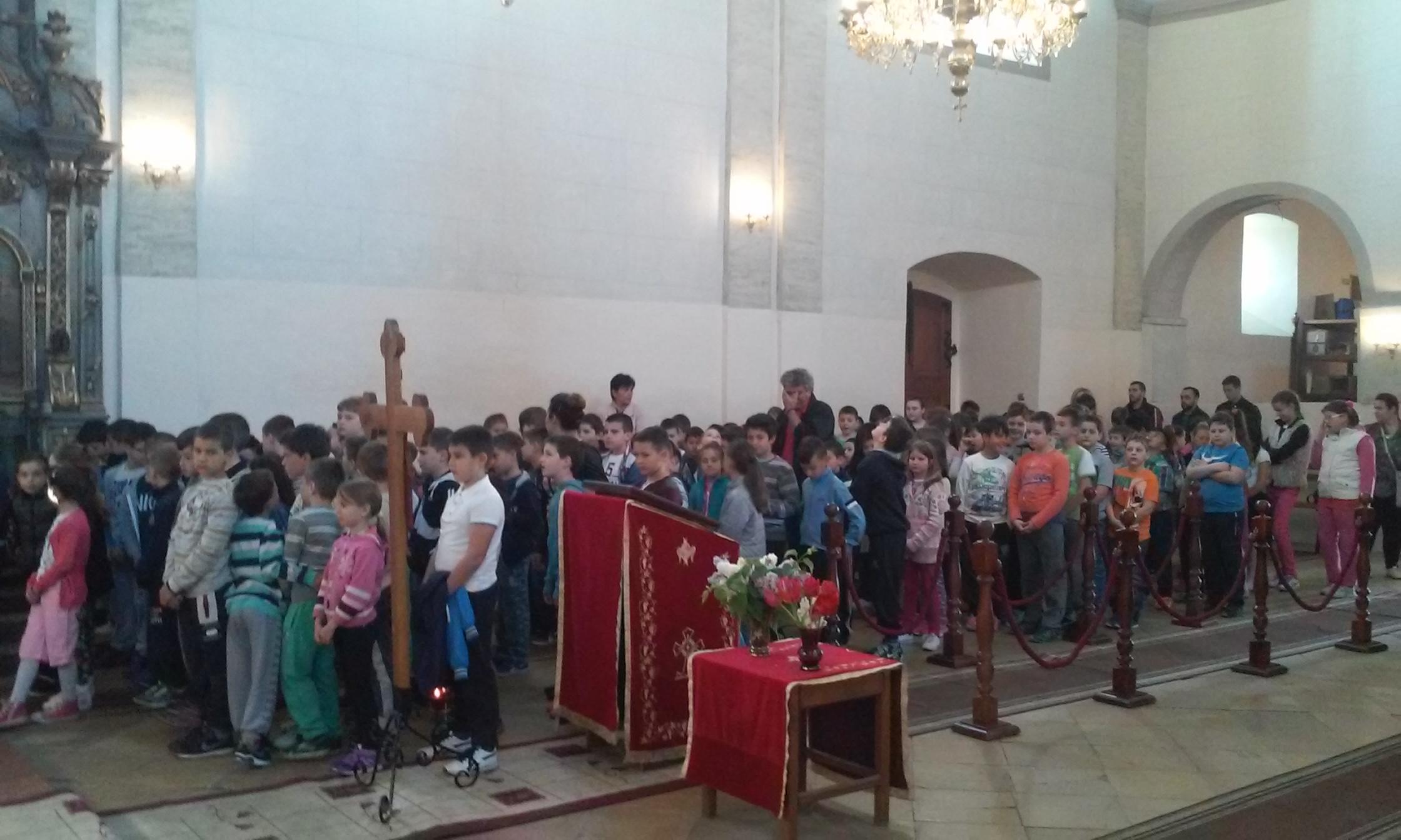 Пређеосвећена Литургија у Старим Бановцима