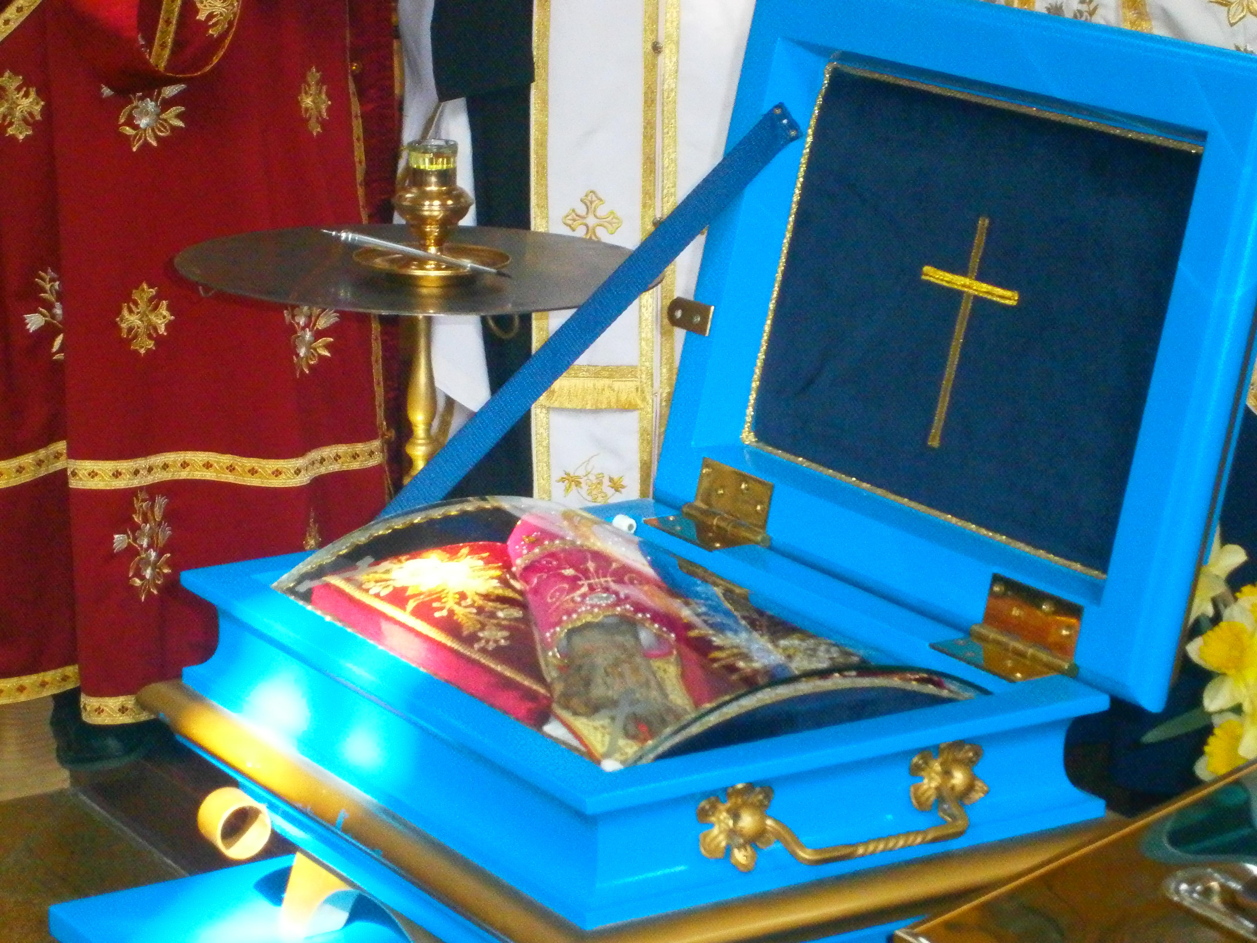"""Емисија """"Плави круг"""", РТВ, посвећена путу моштију Преподобне мајке Ангелине кроз Срем"""