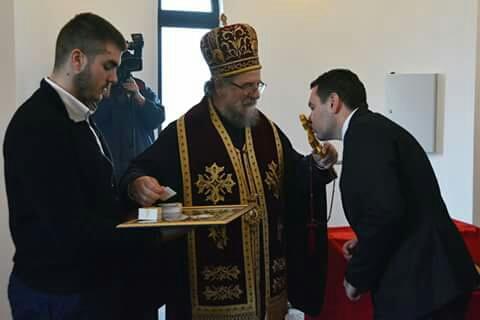 Освећење капеле Свете Петке у Новим Карловцима