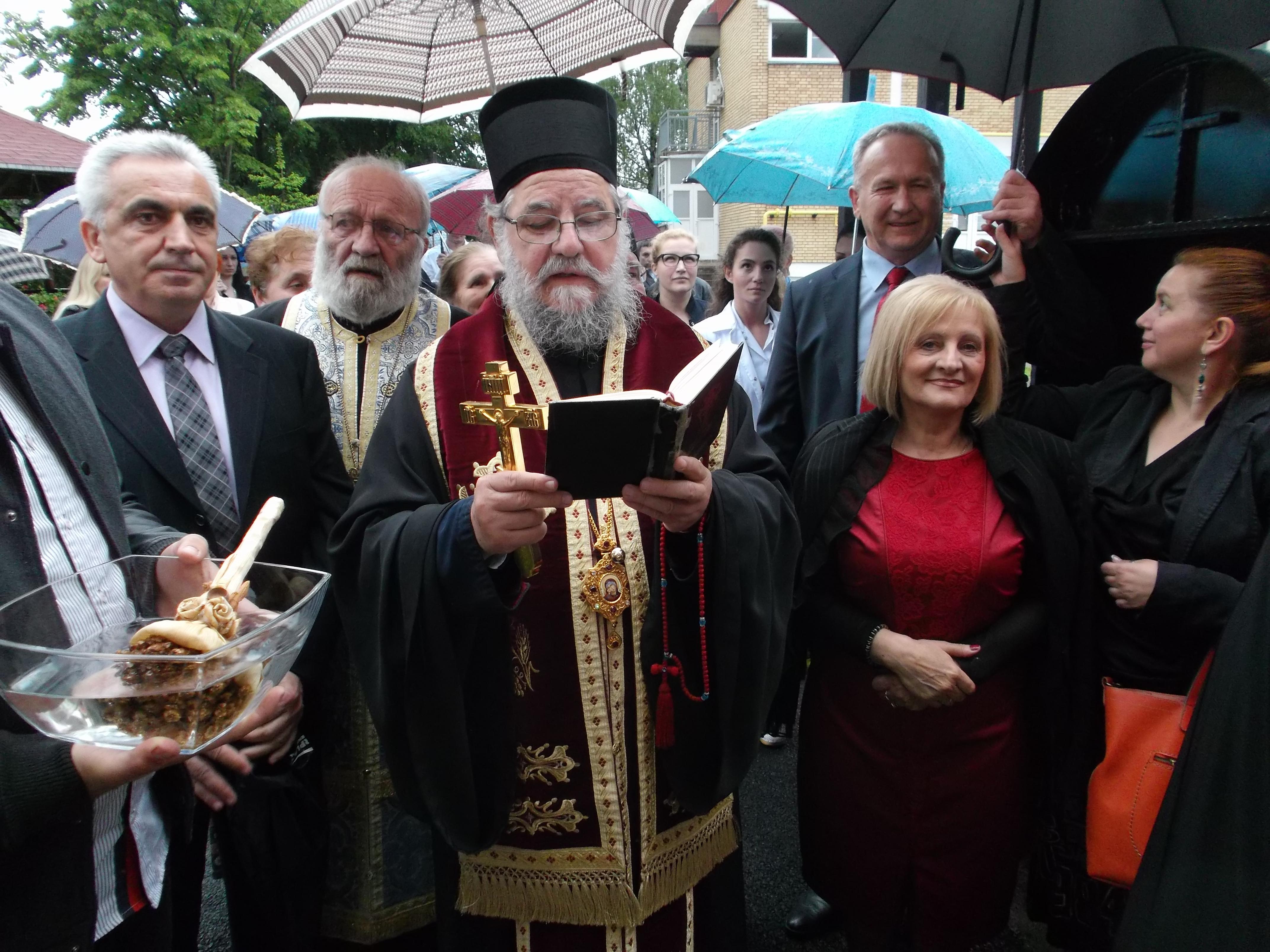 Свети Василије Острошки прослављен у румском геронтолошком центру