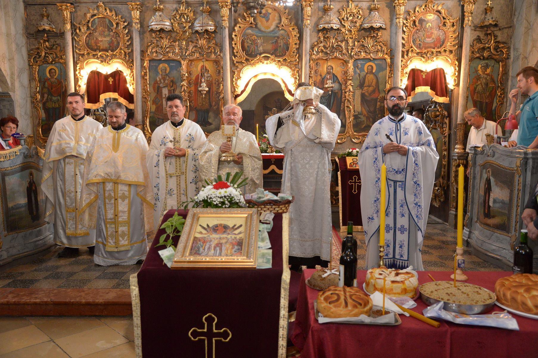 Храмовна слава румске цркве Вазнесења Господњег
