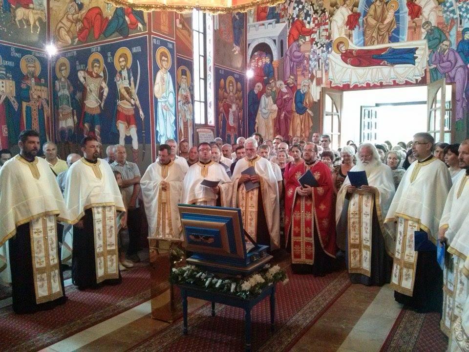 Пут моштију Мајке Ангелине: Нова Пазова