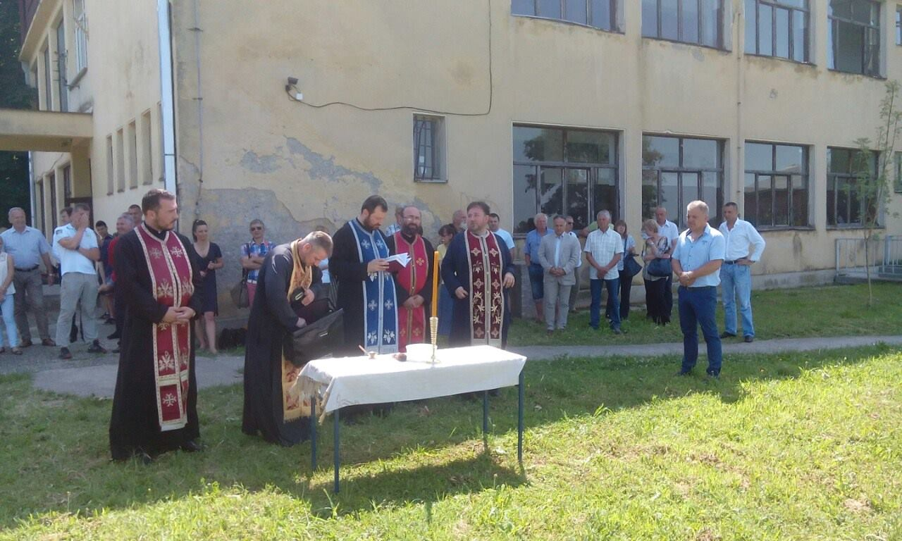 Видовданско благосиљање поља у румској средњој пољопривредној школи