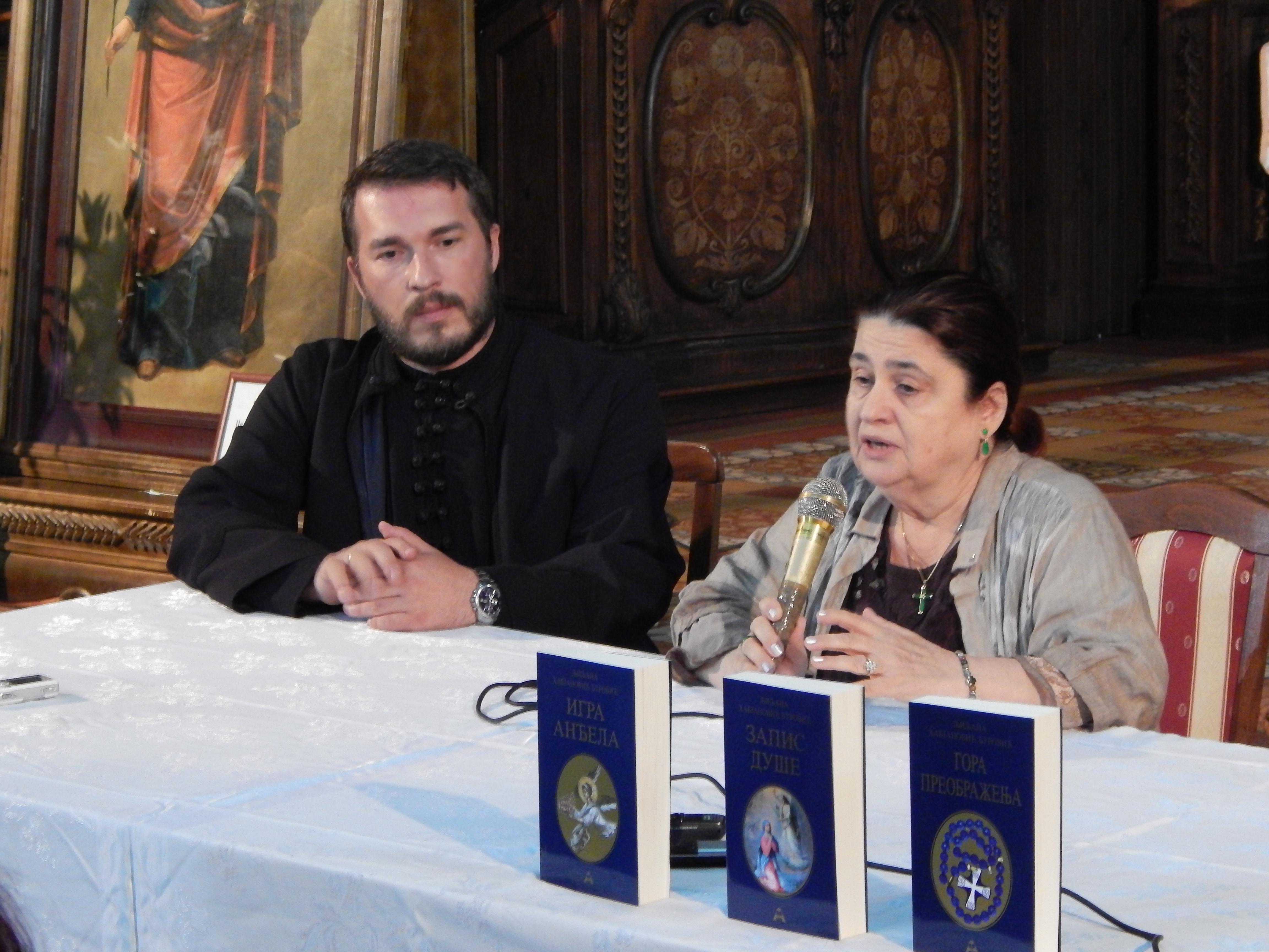 Књижевно вече о мати Ангелини у Руми