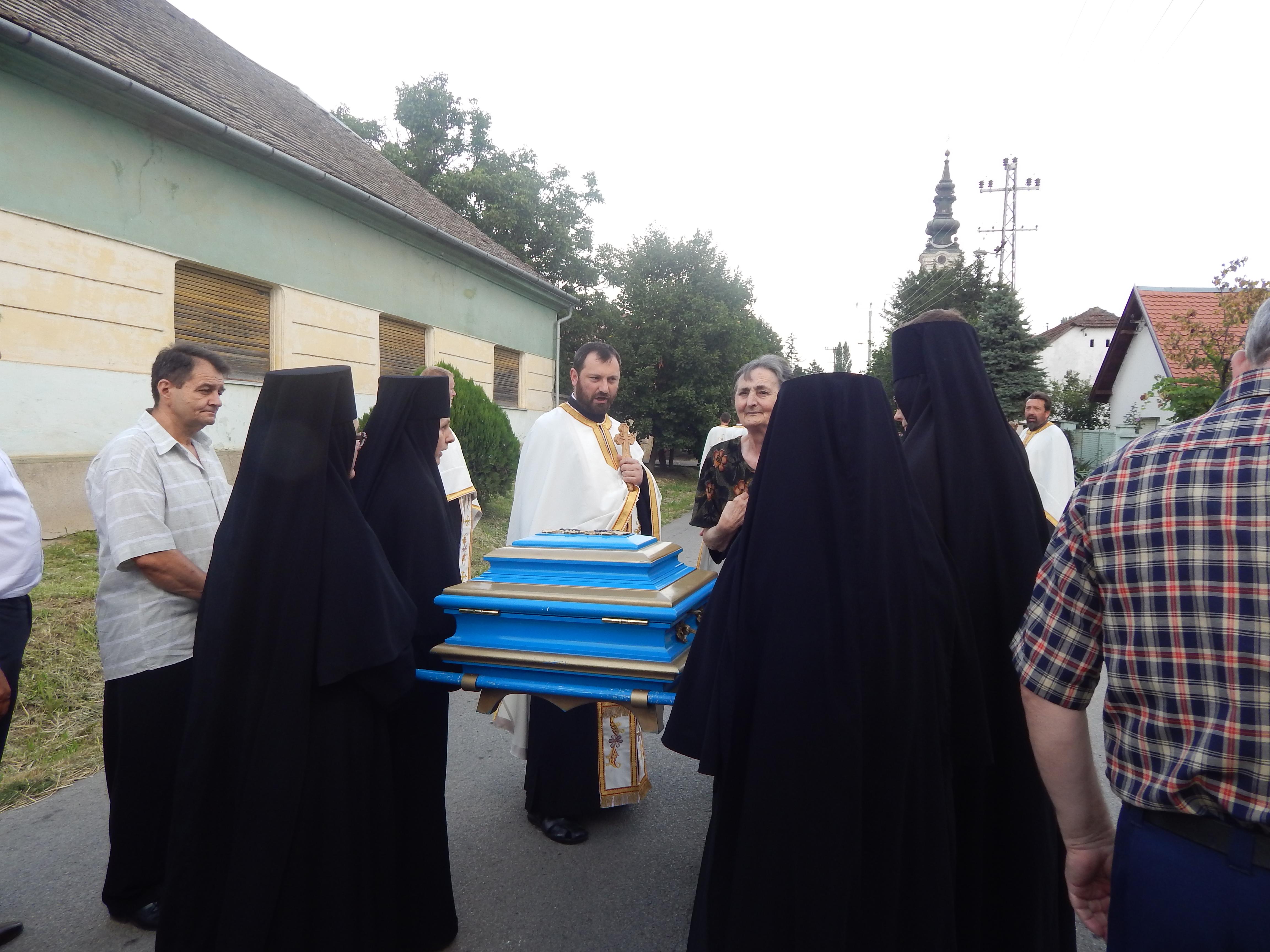 Дочек мати Ангелине у селу Јазак