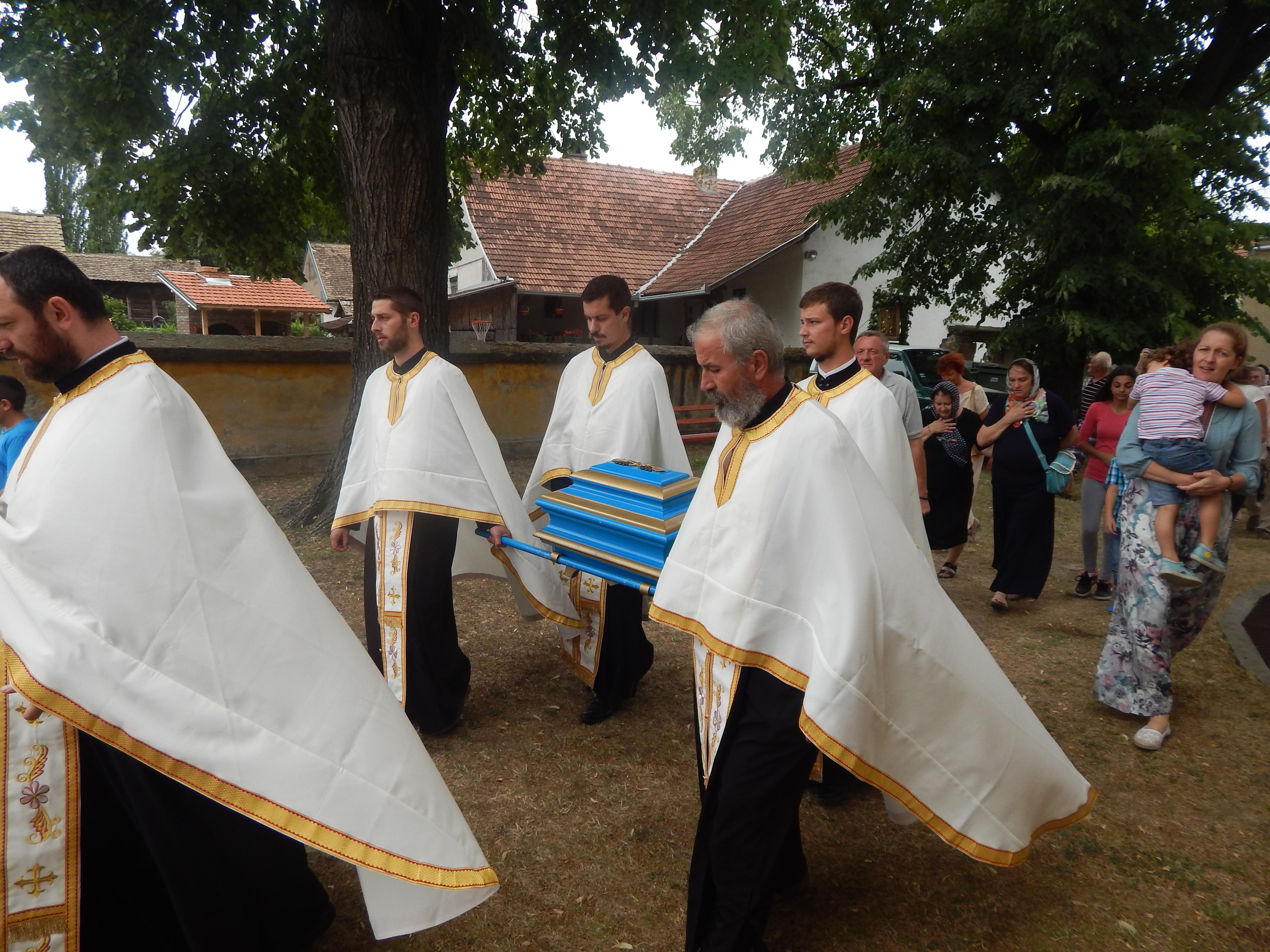 Дочек Свете преподобне Ангелине у Врднику