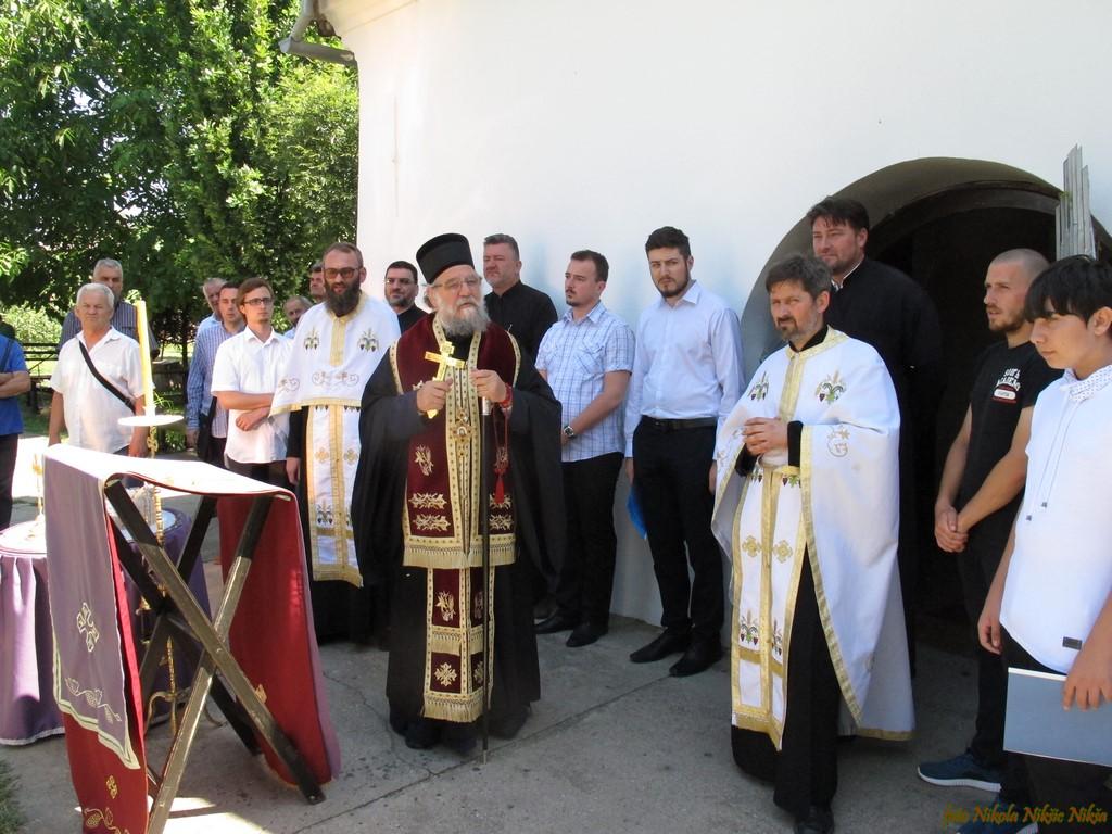 Освећење новог торња сремскомитровачке Мале цркве