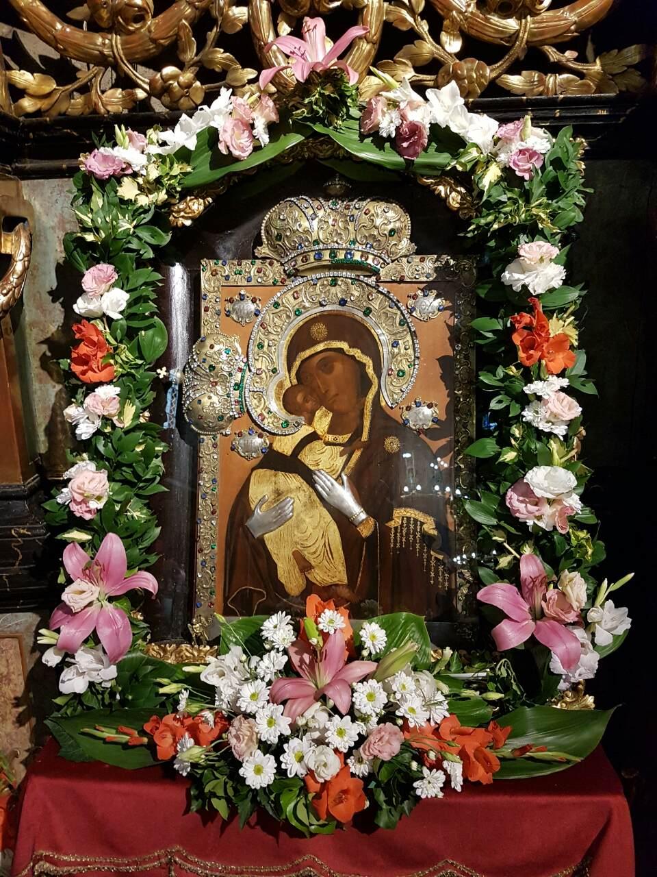 Спомен чудотворне иконе Мајке Божије Бездинске прослављен у Сремским Карловцима