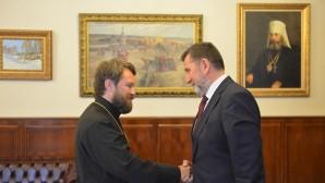 Амбасадор Србије посетио Одељење спољних црквених односа