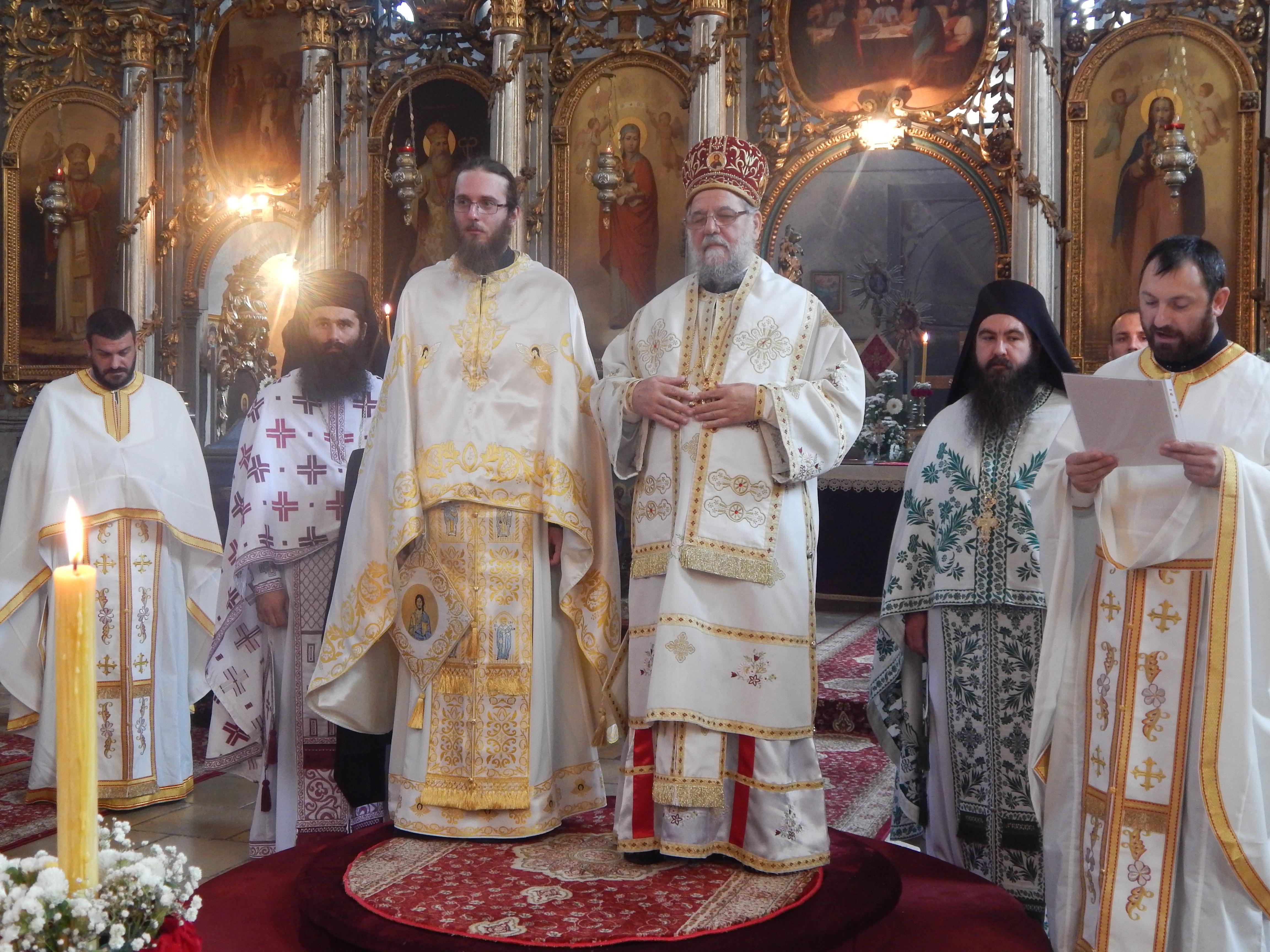 Архијерејска литургија у манастиру Сремска Раваница