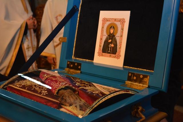 Мошти Свете Мајке Ангелине стигле у Крушедол