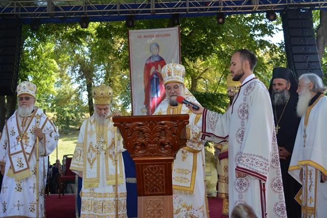 Беседа Његовог Преосвештенства, епископа сремског Г. Василија, присутнима на Светој Архијерејској Литургији 12. августа, 2016. у манастиру Крушедол