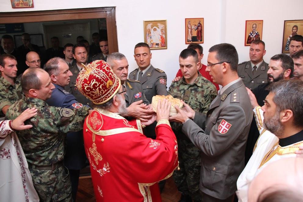 Слава војне капеле у Сремској Митровици