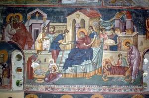 Свети Јустин (Нови) Ћелијски: БЕСЕДА ПРВА НА РОЂЕЊЕ ПРЕСВЕТЕ БОГОРОДИЦЕ