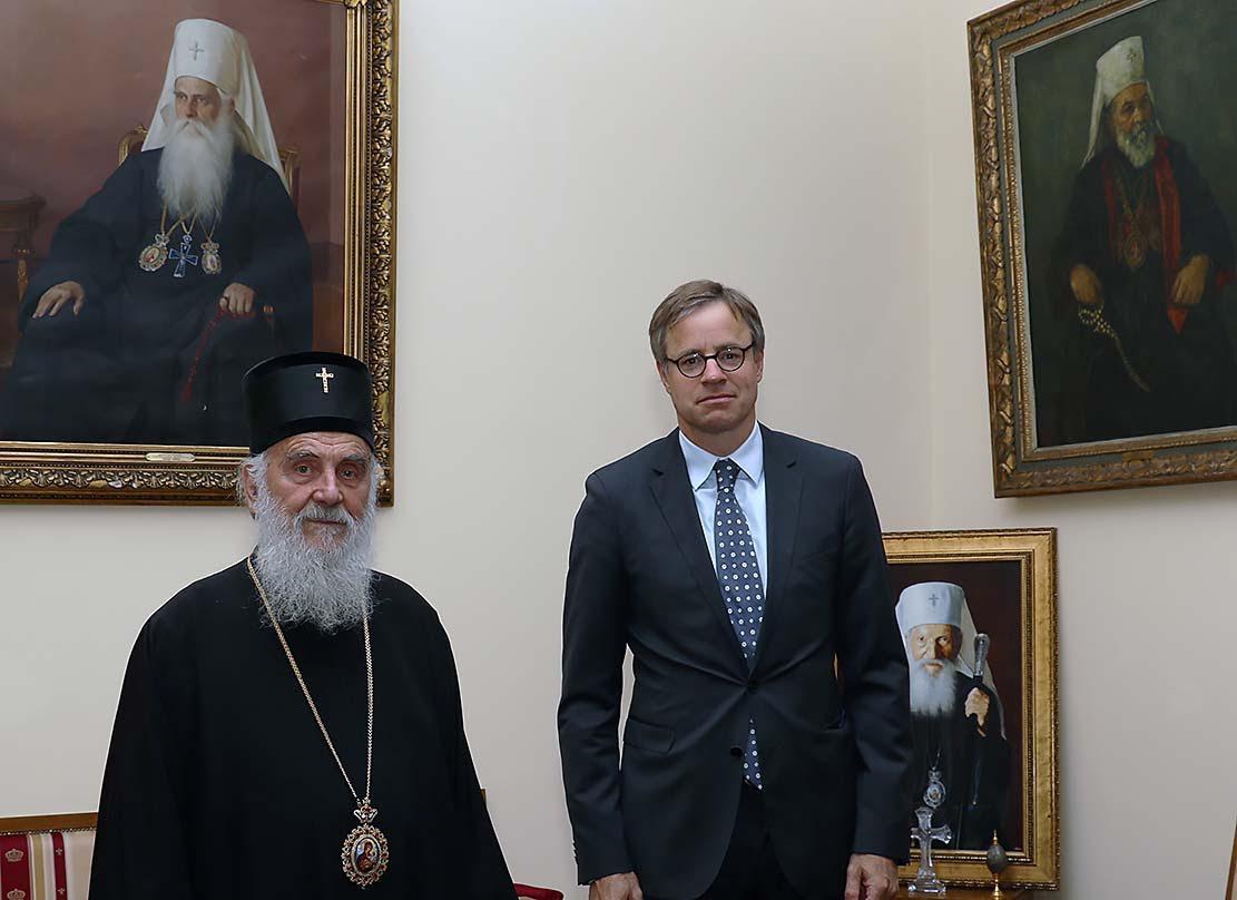 Амбасадор Немачке код Патријарха српског