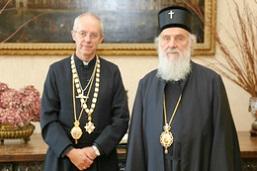 Беседа патријарха Иринеја у Катедрали Светог Павла