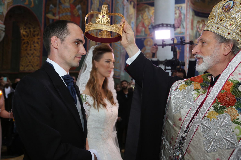Венчање принца Михаила и принцезе Љубице