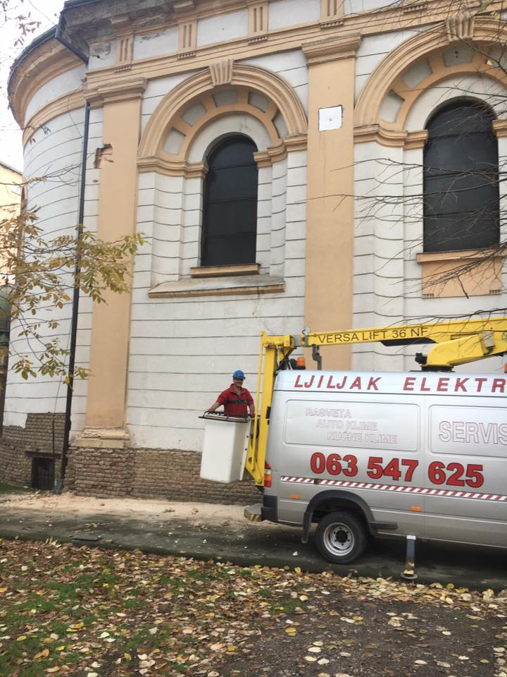Настављају се радови на Грчкој цркви у Руми