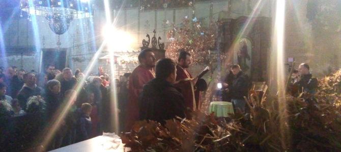 Бадње вече у храму Силаска Светог Духа на апостоле у Руми