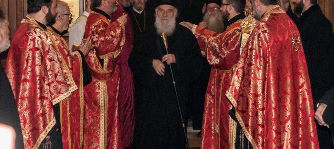 Патријарх српски Иринеј свечано дочекан у Бања Луци