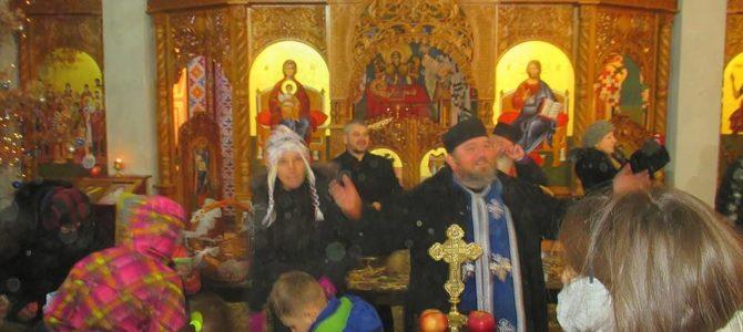 Бадње вече у Храму Сабора Српских Светитеља у Руми