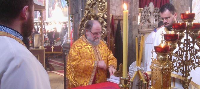 Света архијерејска  Литургија на празник Сретења Господњег у Новим Карловцима