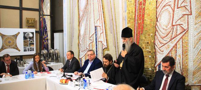 Извештај са заседања комисије за пријем изведених радова ентеријера храма Светог Саве