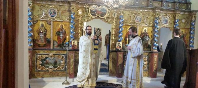 Недеља Православља у Световаведењском манастиру у Сремским Карловцима