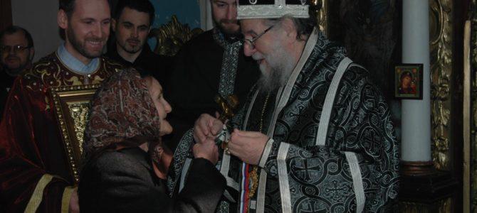 Света Архијерејска Литургија Пређеосвећених Дарова у Попинцима