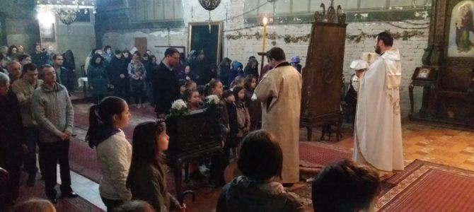 Света Литургија у храму Силаска Светог Духа на апостоле у Руми