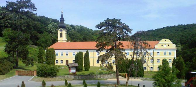Епископ сремски Василије служи у манастиру Ново Хопово