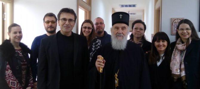 Патријарх Иринеј посетио Радио Слово љубве