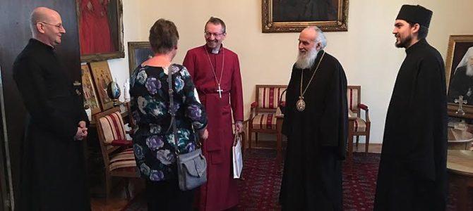 Његова Светост Патријарх српски Г. Иринеј примио eпископа Англиканске Цркве