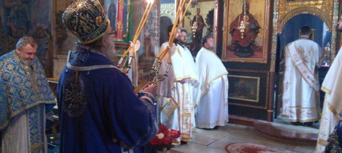Света Архијерејска Литургија на Благовести у Крушедолу