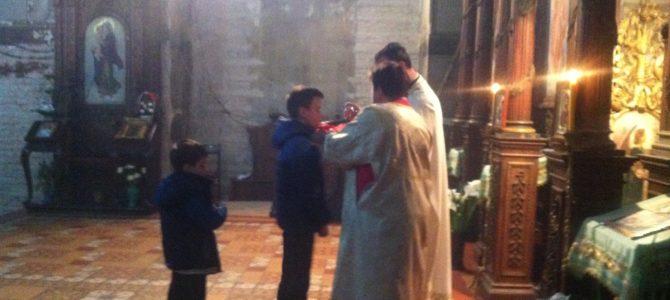 Томина недеља у Храму Силаска Светог Духа на апостоле у Руми