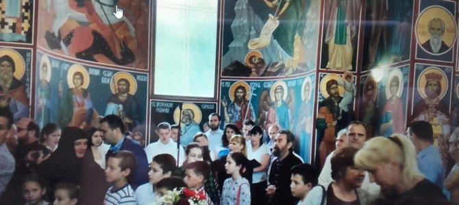 Освећени живопис и нови иконостас у храму у Баричу